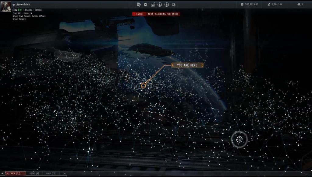 Звездная карта... Ностальгия по Eve Online