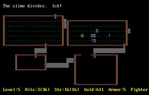 Играя в Rogue, не стоит тратить стрелы на Слизь.. Она от этого только множится!